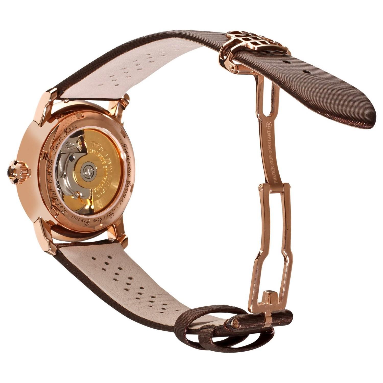 Fermoir déployant pour bracelets satin/cuir Frédérique Constant