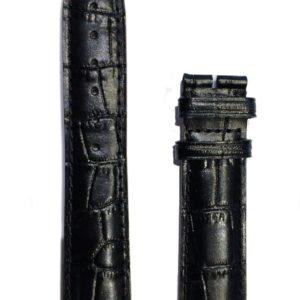Bracelet Frédérique Constant cuir noir 20 mm