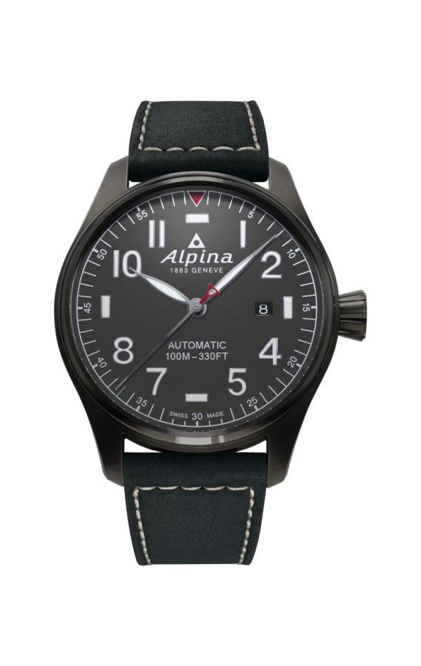 Montre Alpina Startimer Pilot Automatic 44mm PVD Titanium
