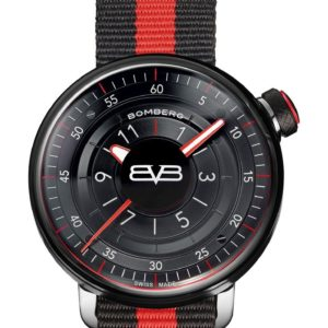 Bomberg BB-01 Black & Red Gent 43mm