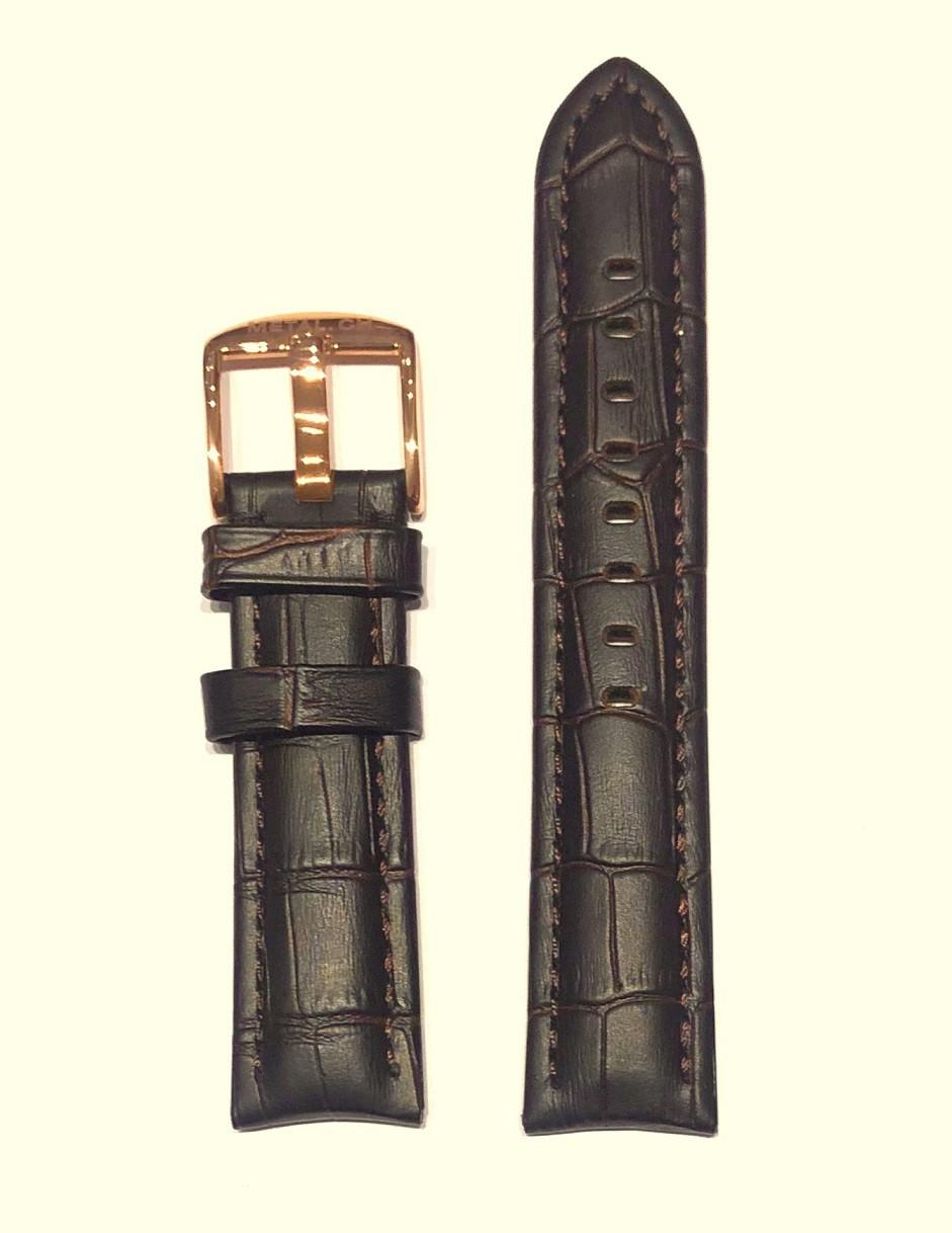 Bracelet cuir pour montres Metal.ch