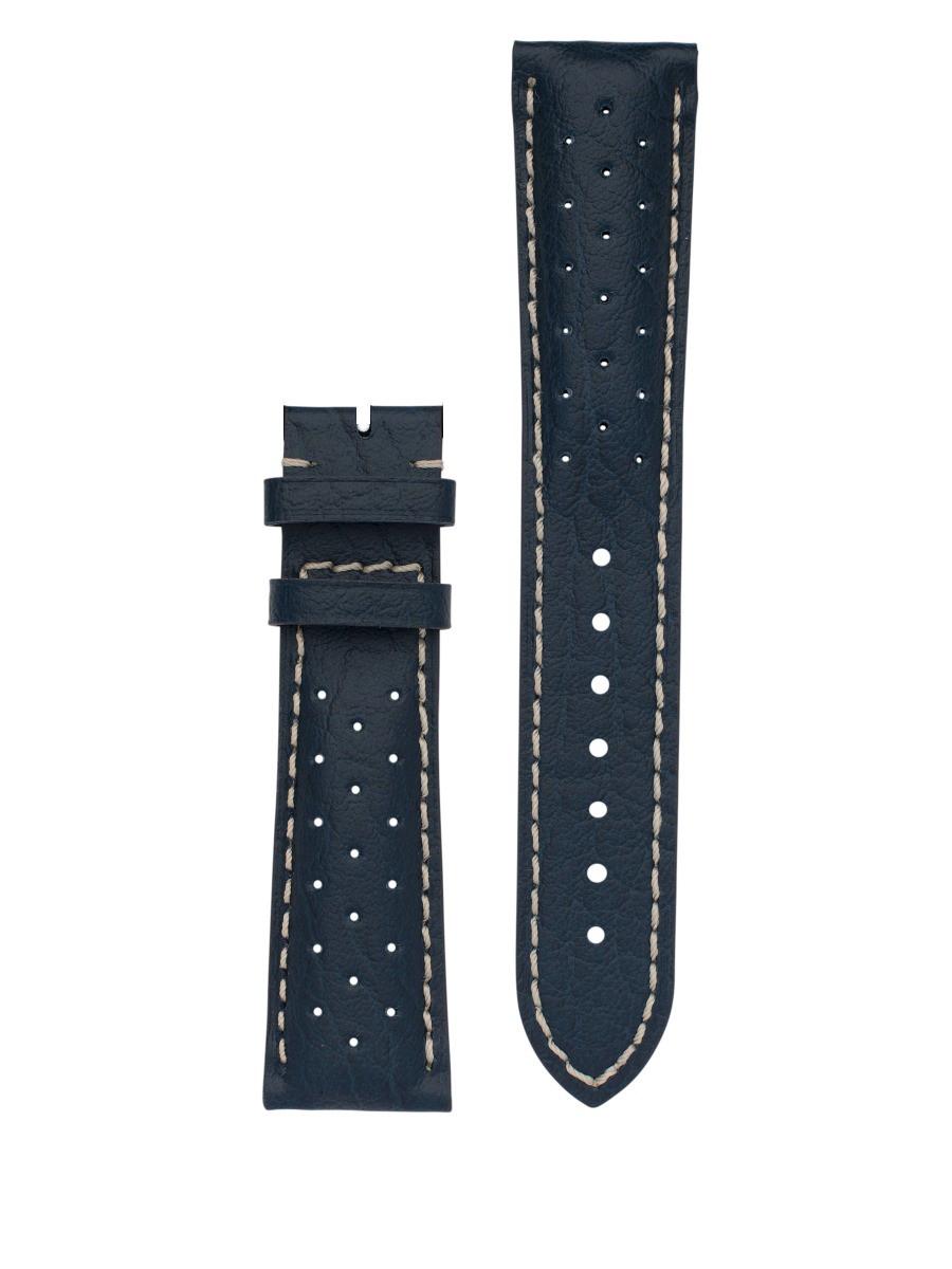 Bracelet Frédérique Constant cuir micro-percé 21 mm