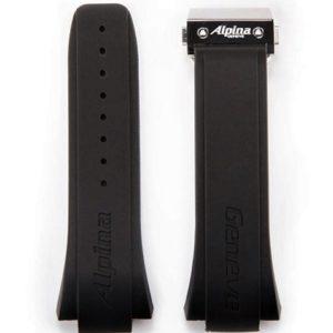 Bracelet Alpina silicone 23 / 28 mm pour Avalanche