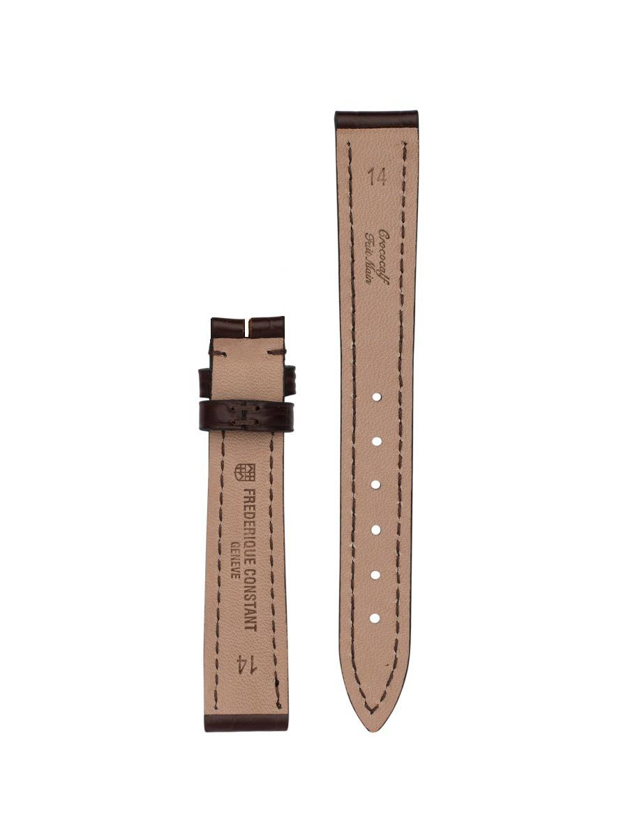 Bracelet cuir Frédérique Constant - Espace Temps - Genève