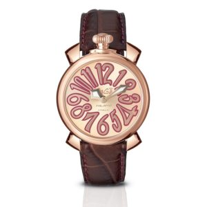 Gaga Manuale 40 mm Gold Plated