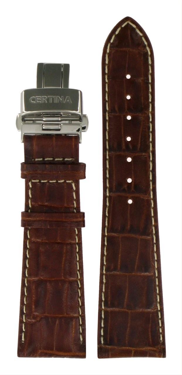 Bracelet Certina cuir 23 mm pour DS Podium Square