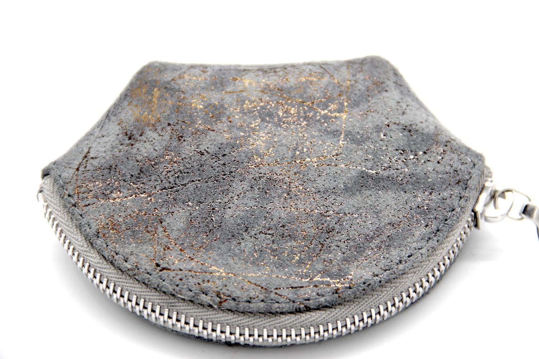 Jessica Cohen Porte-monnaie, gris et bronze