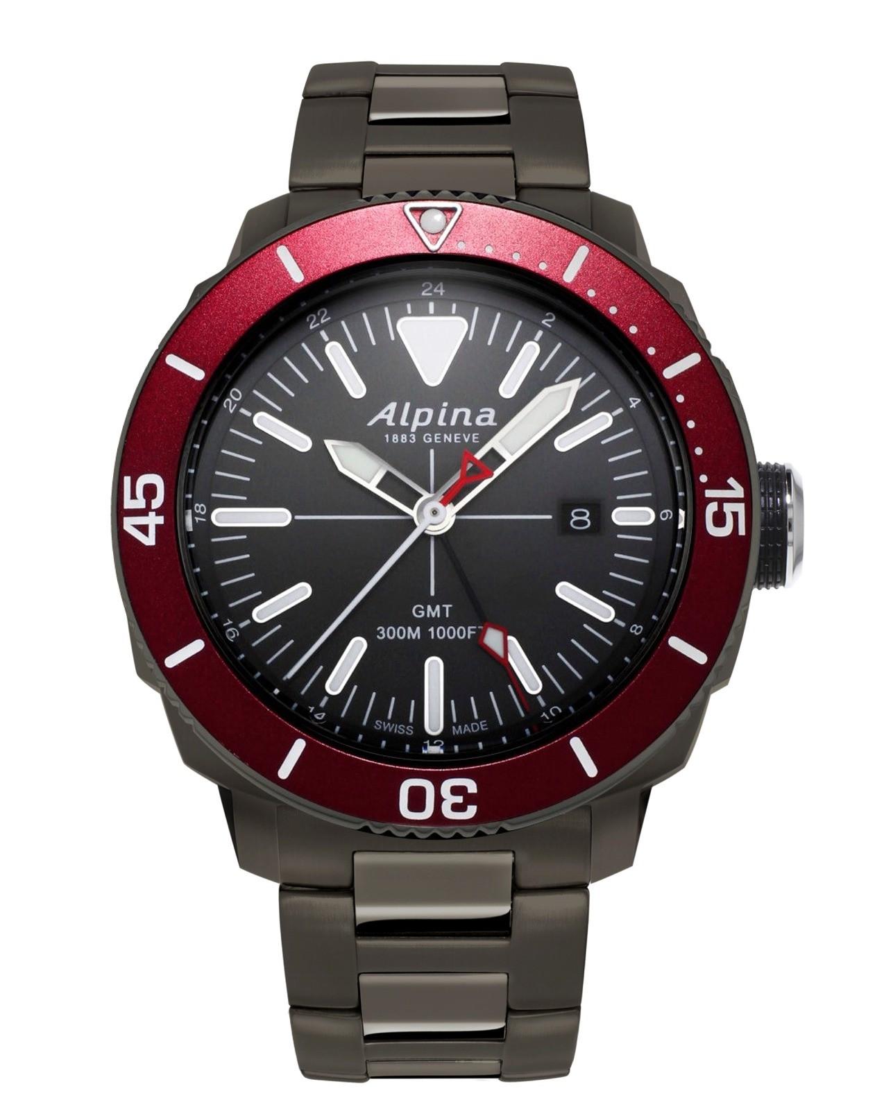 Alpina Seastrong Diver Quartz GMT