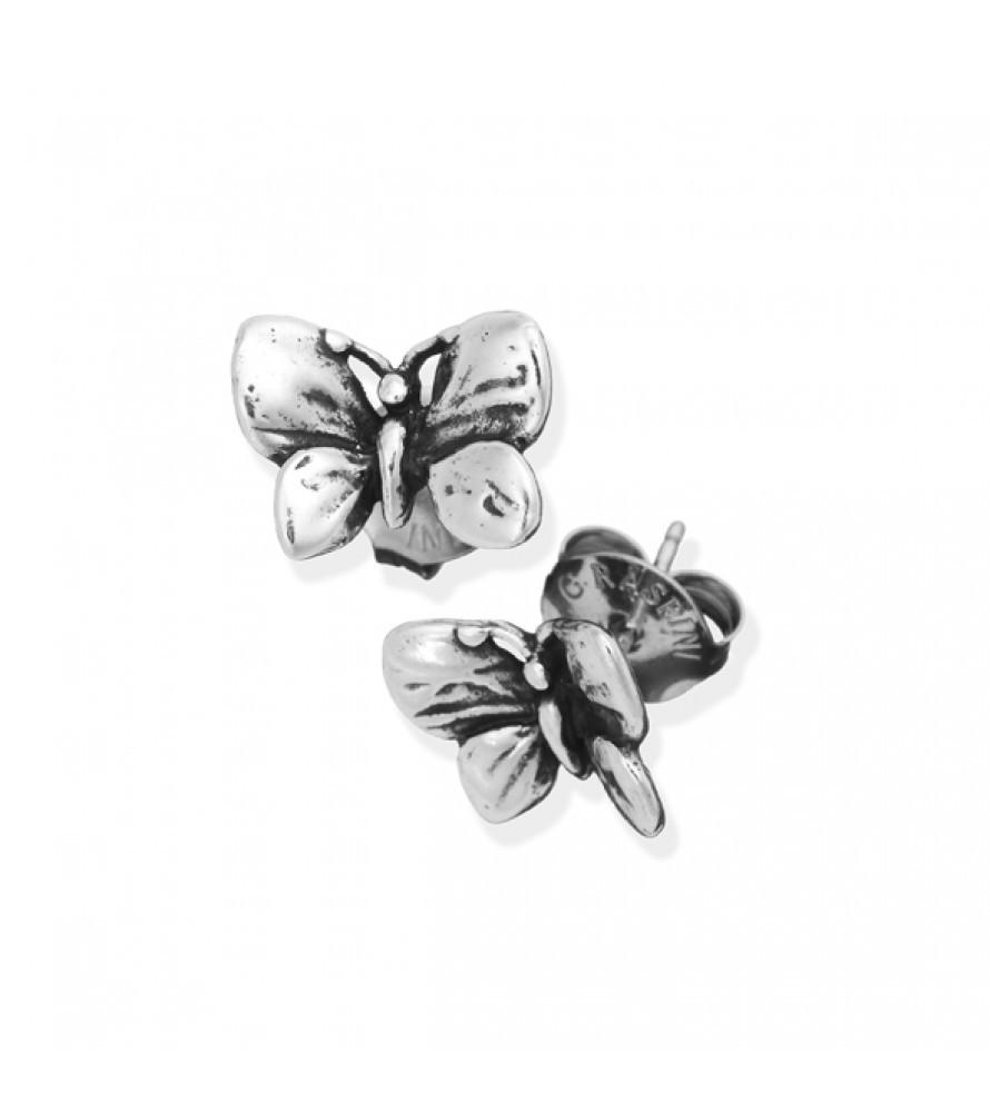 Giovanni Raspini Mini Butterflies Boucles d'Oreilles