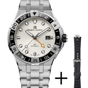 Montre de plongée Maurice Lacroix Aikon Venturer Automatic GMT   Espace Temps