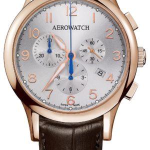 Montre Aerowatch Les Grandes Classiques Chrono Quartz 83966 RO01