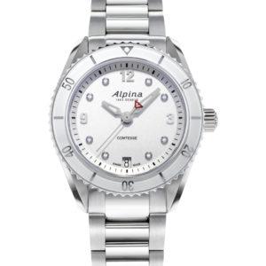 Alpina Comtesse Sport Quartz AL-240SD3C6B Watch