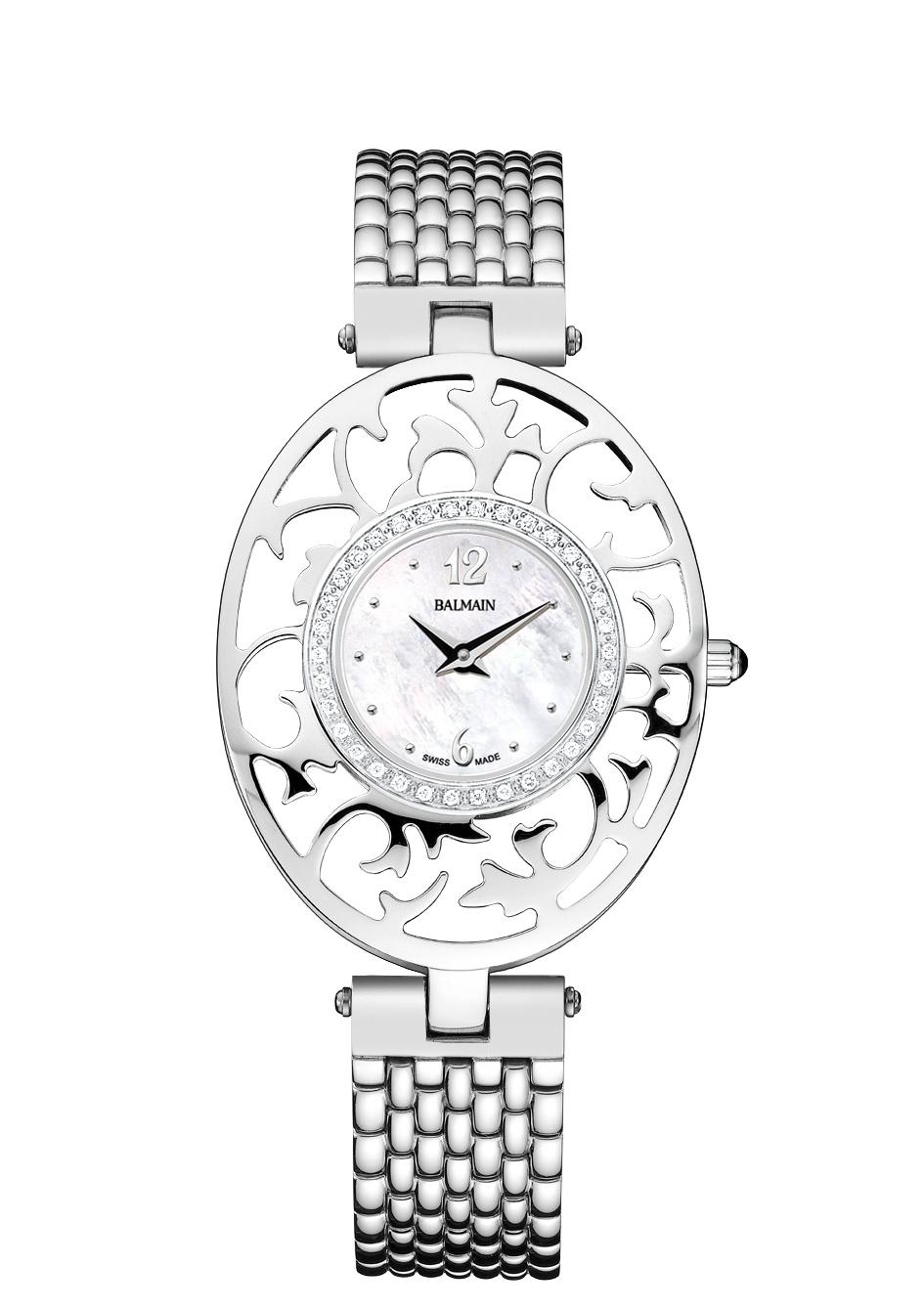 Montre Balmain Embrace Acier Diamants