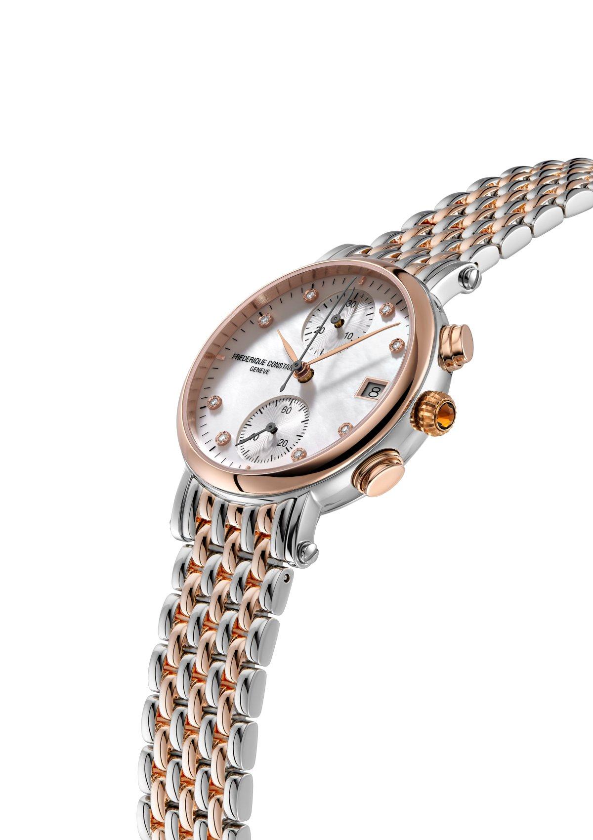 Frédérique Constant Classics Quartz Chronograph Ladies
