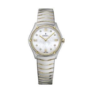 Montre Ebel Sport Classic 33mm Diamants 1216512A