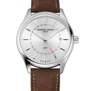 Montre Frédérique Constant Classics Quartz GMT FC-252SS5B6