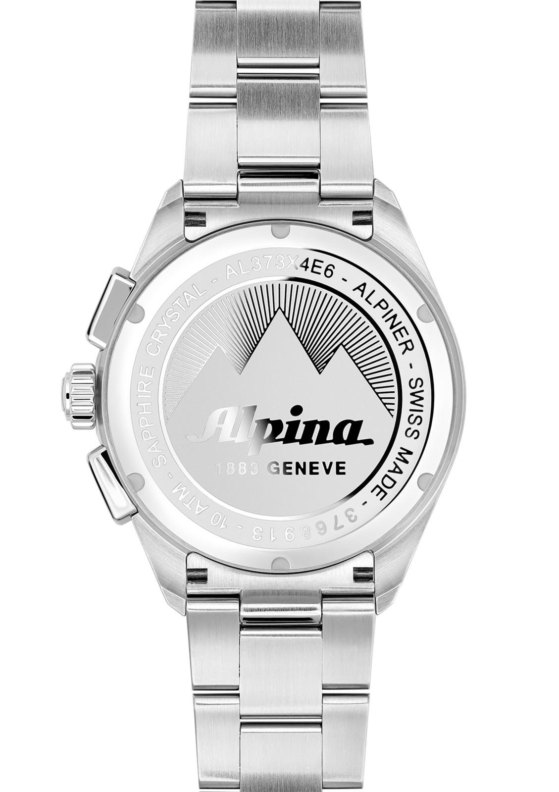 Montre Alpina Alpiner Quartz Chronograph AL-373BS4E6B