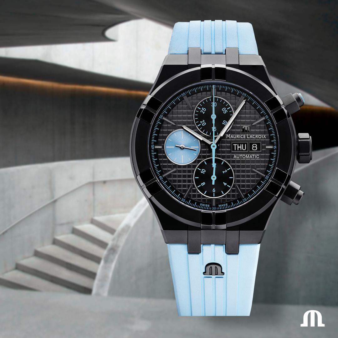 Chronographe Automatique Maurice Lacroix Aikon Sprint Strava